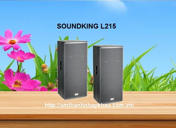 Loa Full Soundking L215 là dòng hội trường cao cấp