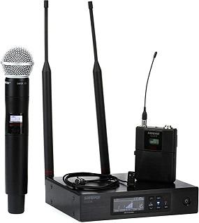 Hệ thống micrô Shure QLXD124 / 85