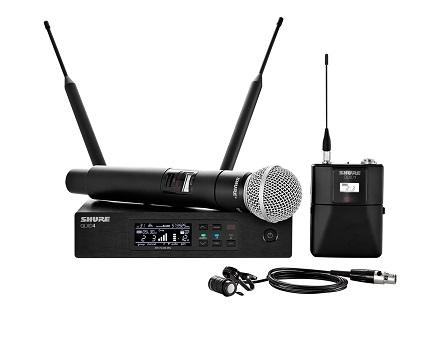 Hệ thống micrô không dây Shure QLXD124 / 85
