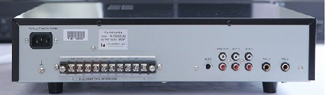 amply chọn 5 vùng loa TOA A-1360SS mặt sau