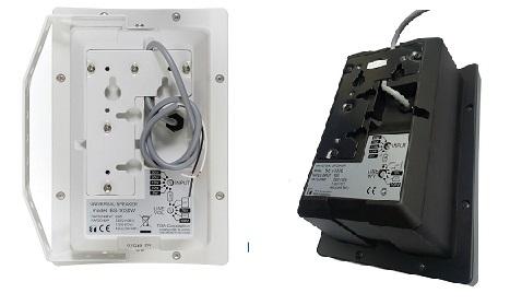 loa hộp TOA BS- 1030W/B mặt sau