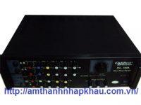Amply karaoke Nanomax PA 109A được làm từ thép cao cấp