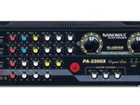 Amply karaoke Nanomax 2200X được làm từ thép cao cấp