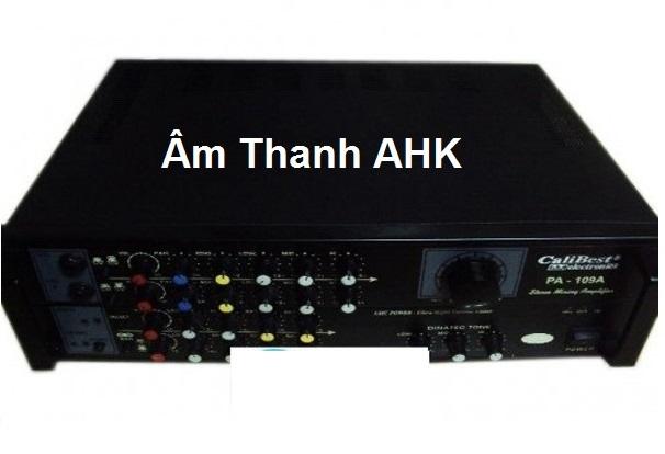 Amply karaoke Nanomax PA 109A là một trong những sản phẩm đi đầu cho Series Amply