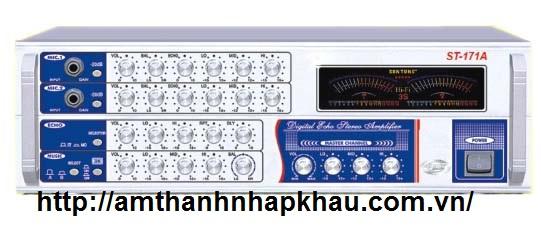 Amply karaoke Nanomax ST 171A với chất lượng âm thanh sống động, tuyệt hảo