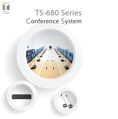 Hệ thống âm thanh hội thảo TOA TS-680