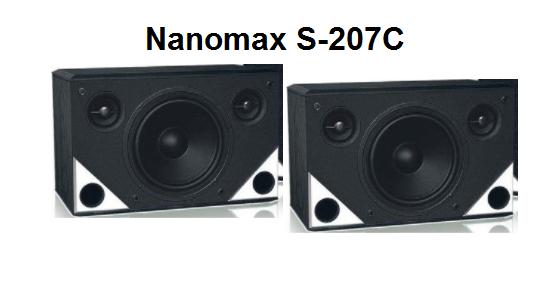 Loa Nanomax S207C là một sản phẩm chính hãng của Nanomax