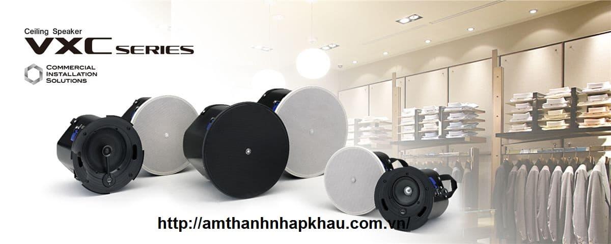 Loa âm trần Yamaha VXC4 có loa trầm với 3 kích thước