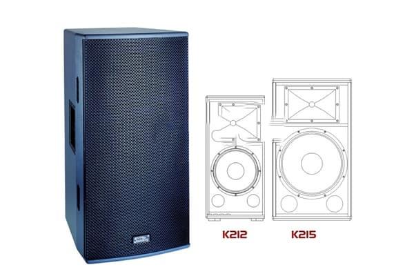 Loa Full Soundking K212 có kiểu dáng thiết kế nhỏ gọn