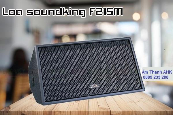 Loa Soundking F215M có kiểu dáng rất đặc biệt với dạng nằm hơi dẹp