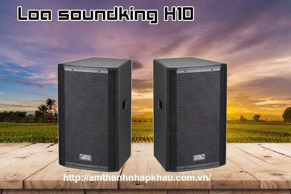 Soundking H10 có thiết kế tao nhã, gọn nhẹ.