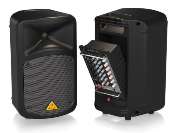 Behringer Europort EPS500MP3 có thể tháo rời mixer