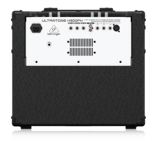 Behringer Ultratone K900FX có 3 kênh đầu vào