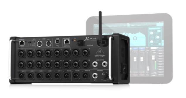 Behringer X AIR XR18 kết nối thiết bị di động để điều chỉnh