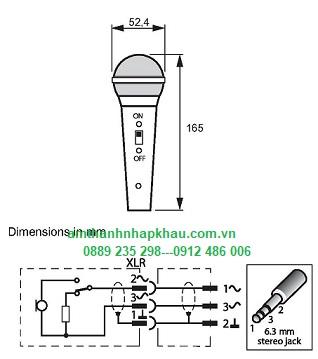 Micro cầm tay Bosch LBC 2900/15