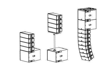 Loa line array SoundKing G05S/G05SA 5