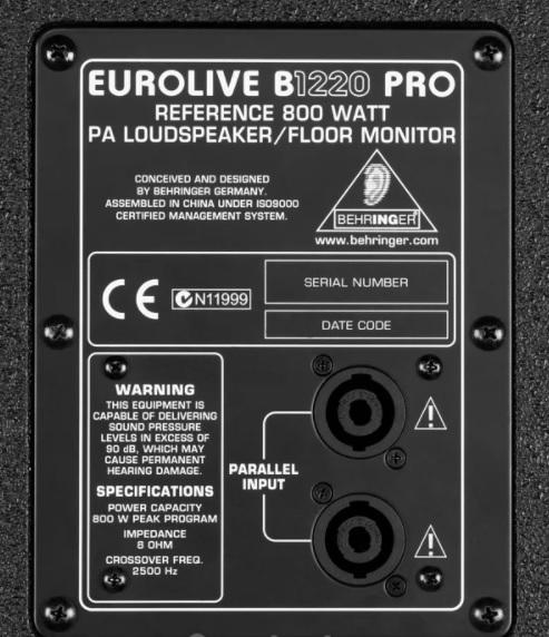 Loa Behringer Eurolive B1220 PRO-EU 800w