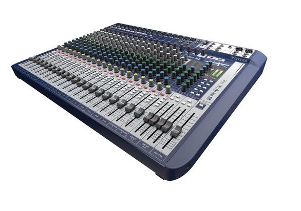 Mixer Soundcraft Signature 22 MTK - 22 kênh với effects