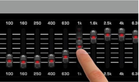 PMP550M là bộ trộn 5 kênh