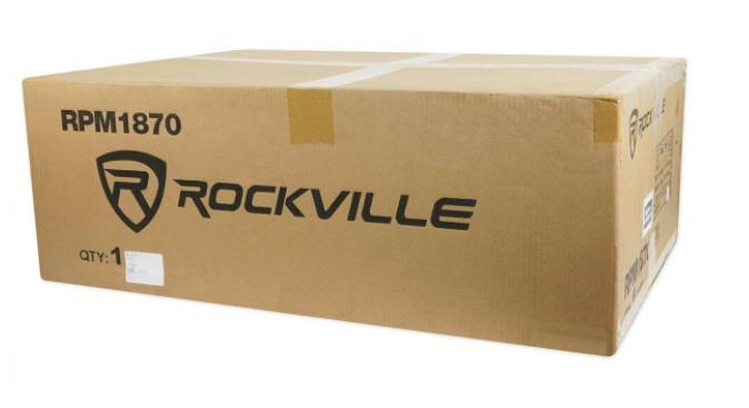 Rockville RPM1870 đóng gói nhỏ gọn