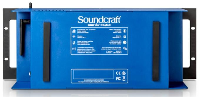 Soundcraft Ui24R khá linh hoạt nhỏ gọn