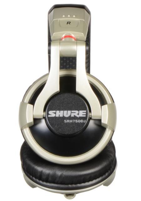 Tai nghe Shure SRH750DJ chuyên cho DJ