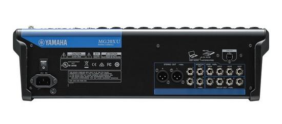 Yamaha MG20XU kết nối khá phổ biến