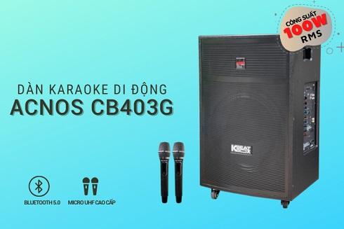 ACNOS KBEATBOX CB403G chính hãng