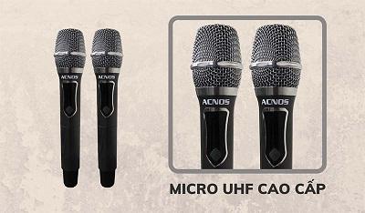 Acnos Kbeatbox CB404G cặp micro cao cấp