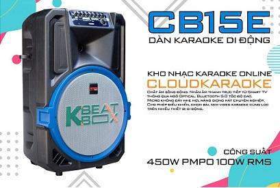 Loa kéo Acnos KBeatbox CB15E chính hãng