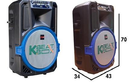 Loa kéo Acnos KBeatbox CB15E cao cấp giá rẻ