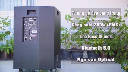 Acnos KBeatbox CB55G chính hãng
