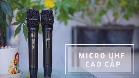 Acnos KBeatbox CB55G tích hợp micro cao cấp
