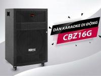 Dàn karaoke mini Acnos KBeatbox CBZ16G 7