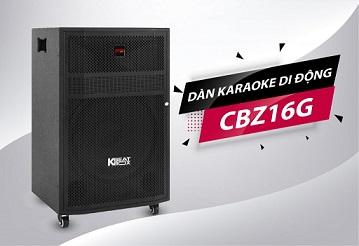 Dàn karaoke mini Acnos KBeatbox CBZ16G 4